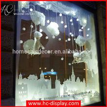 Sweet hanging fiberglass angel sculpture for store window displays