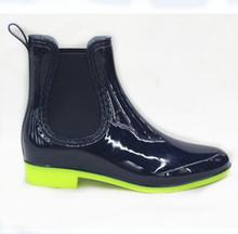Dark Blue Fashion Rain Boots