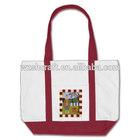 custom reusable cotton recycle bag/ tote bag canvas