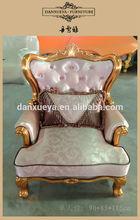 gold throne luxury wooden rococo living room sofa