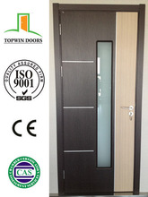 2014 lastest style Hot sale glass wooden door with glass design HIGH QUALITY