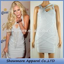 Style Number W359 woman desiner dress,woman dress color combination for blue dress