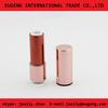 Aluminum round lipstick case with transparent bottom
