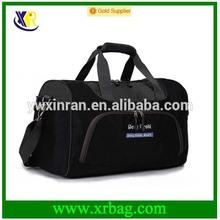 china factory promotional black cheap nylon travel bags