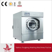 XTQ big capacity industrial full automatic laundry equipment washer