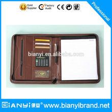 Fashion A4 Business Leather Portfolio Case