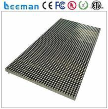 4mm module tri-color panel panllata Leeman p10 rgb led display control card 3v 18v illuminant smd led display module