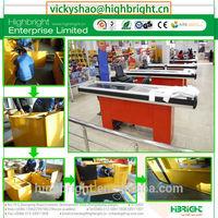 POS cash table supermarket stainless steel cashier register desk