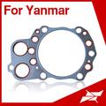 6LA junta de culata para Yanmar diesel piezas del motor