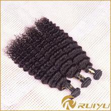 Gold supplier 6AAAAAA grade 100% virgin indian deep curly hair