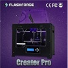 Flashforge 3d model printer Creator Pro total-closed dual extruder rapid prototyping printers