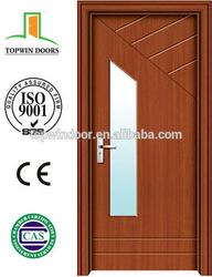 puertas de madera PVC porte in legno with High Quality and Popular Design