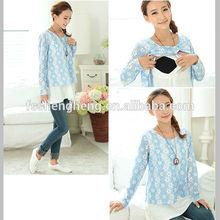 2014 good sale cotton cute pregnancy clothing AK152
