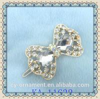 Elegant metal butterfly hair clip designer hair clips for girls