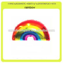 Rainbow foil balloon,helium balloom !
