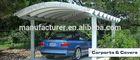 steel arched roof steel frame carport parts