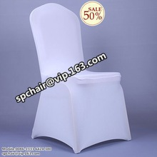 cheap white wedding disposable chair cover for chair