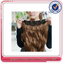 No Shedding No Mix No Tangle High One Piece Clip Hair Extension