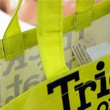 recycle fashion tnt shopping bag
