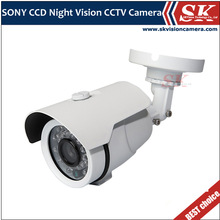"SKVISION 1/3"" SONY Effio-A CCD 750TVL 2.8mm lens Outdoor waterproof digital camera"