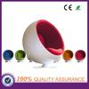 fiberglass egg chair , round ball chair , ball chair