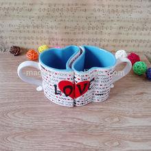 Heart Shape Couple Coffee Mug