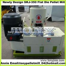 Skj-350 chine la biomasse poêle à granulés utilisé culot décision prix de la machine / machine à granulés avec CE