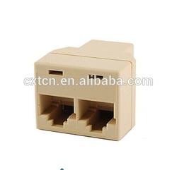 RJ45 adapter 1 to 2 RJ45 to RJ45 adapter rj45 splitter adapter