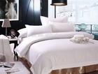 satin stripe wholesale hotel bedding set
