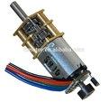 12 voltios dc motor del engranaje 30 rpm