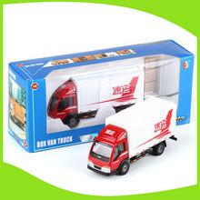 Good quality metal assembly toy mini van truck box