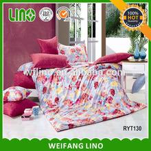paris quilt cover/quilt cover set/cotton padded quilt