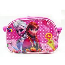 Children red dot cartoon fashion pupils kindergarten kids animal handbag long strap shoulder bag for girls