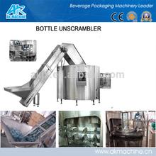 electric driven new condition beverage plastic Bottle Unscrambler