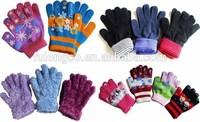 unisex custom wholesale cheap children magic acrylic glove