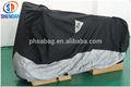 210d pesados capa impermeável da motocicleta com a prata revestida de calor- resistente tecido