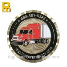 Personlized logo sports coin with imitation hard enamel