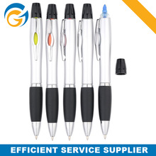Lipstick Highlighters Chisel Tip Marker Pens with Ball Pen