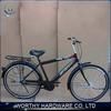 26'' hi ten steel city bike frame and old style city bike