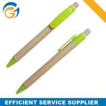 Green Pen Gold Office Paper Ball Pens