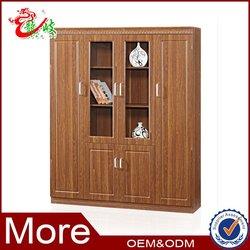 office supply 2 glass door OEM welcomed storage file cabinet wooden cupboard designs