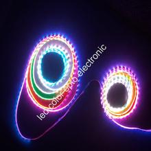 strip led dmx control rgb color changing led rope light