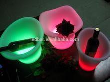 LED wine ice bucket beer cooler Red wine holders