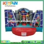 Good quality top sell inflatable dog bouncer with slide