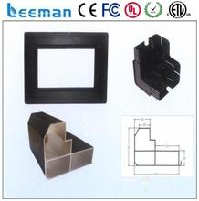 Leeman p6 full color rgb led module aluminum profile sliding door handles p5 led module control card