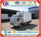 1ton cold room van mini refrigerated truck freezer van chiller van with gasoline engine