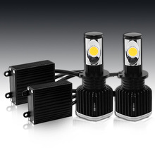 2014 newest 25w D series cree led headlight ,car led headlight 2800 lumens with built-in fan