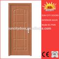 Al ras de la casa de madera para el hogar rumanía sc-p048 puerta