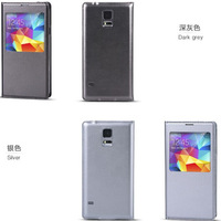 Flip PU Leather Case Cover Smart Wake View For SAMSUNG GALAXY S5