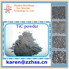 TiC Titanium Carbide Powder cutting tools material 99.5% min TiC Titanium carbide powder
